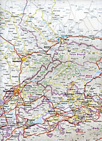 World Mapping Project Reise Know-How Landkarte Zentralasien (1:1.700.000); Central Asia; Asie centrale; Asia central - Produktdetailbild 2