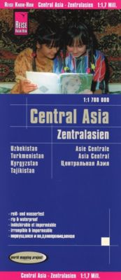 World Mapping Project Reise Know-How Landkarte Zentralasien (1:1.700.000); Central Asia; Asie centrale; Asia central, Reise Know-How Verlag Peter Rump