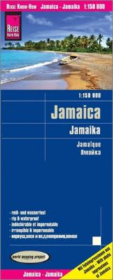 World Mapping Project Reise Know-How Landkarte Jamaica (1:150.000), Reise Know-How Verlag Peter Rump