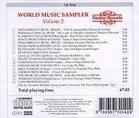World Music Sampler-Vol.2 - Produktdetailbild 1
