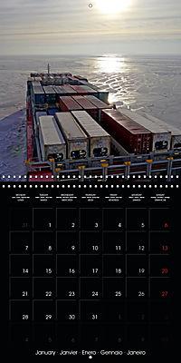 World of Container Ships (Wall Calendar 2019 300 × 300 mm Square) - Produktdetailbild 1