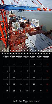 World of Container Ships (Wall Calendar 2019 300 × 300 mm Square) - Produktdetailbild 3