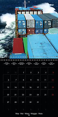 World of Container Ships (Wall Calendar 2019 300 × 300 mm Square) - Produktdetailbild 5