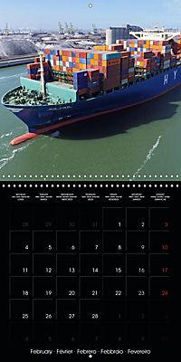 World of Container Ships (Wall Calendar 2019 300 × 300 mm Square) - Produktdetailbild 2
