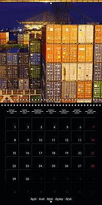 World of Container Ships (Wall Calendar 2019 300 × 300 mm Square) - Produktdetailbild 4