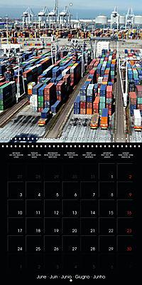 World of Container Ships (Wall Calendar 2019 300 × 300 mm Square) - Produktdetailbild 6