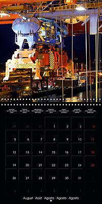 World of Container Ships (Wall Calendar 2019 300 × 300 mm Square) - Produktdetailbild 8