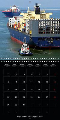 World of Container Ships (Wall Calendar 2019 300 × 300 mm Square) - Produktdetailbild 7