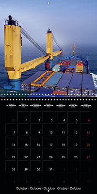 World of Container Ships (Wall Calendar 2019 300 × 300 mm Square) - Produktdetailbild 10
