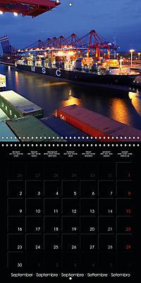 World of Container Ships (Wall Calendar 2019 300 × 300 mm Square) - Produktdetailbild 9