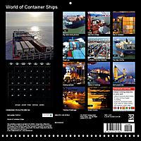 World of Container Ships (Wall Calendar 2019 300 × 300 mm Square) - Produktdetailbild 13