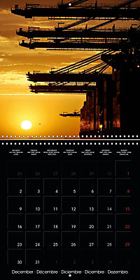 World of Container Ships (Wall Calendar 2019 300 × 300 mm Square) - Produktdetailbild 12