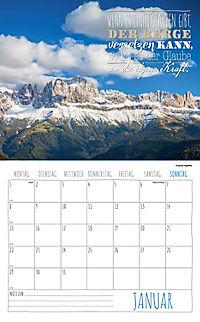 Worte für die Seele Kalender 2018 + 2 Blechschilder - Produktdetailbild 1