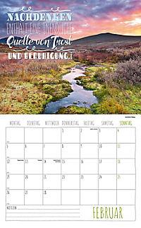 Worte für die Seele Kalender 2018 + 2 Blechschilder - Produktdetailbild 2