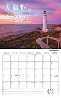 Worte für die Seele Kalender 2018 + 2 Blechschilder - Produktdetailbild 3
