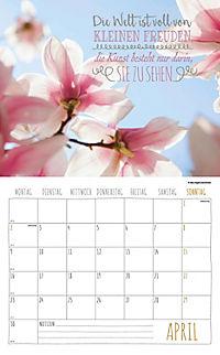 Worte für die Seele Kalender 2018 + 2 Blechschilder - Produktdetailbild 4