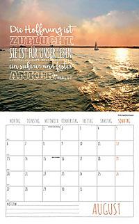Worte für die Seele Kalender 2018 + 2 Blechschilder - Produktdetailbild 8