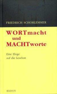 Wortmacht und Machtworte, Friedrich Schorlemmer