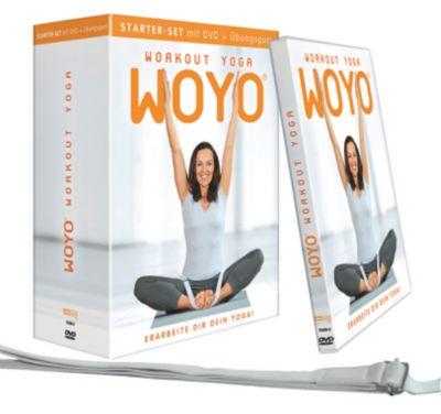 WOYO - Workout-Yoga Starter-Set (mit DVD + Übungsgurt), Sonja Söder, Peter Schlösser