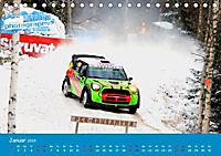 WRC Schweden White Open 2019 (Tischkalender 2019 DIN A5 quer) - Produktdetailbild 11