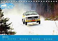 WRC Schweden White Open 2019 (Tischkalender 2019 DIN A5 quer) - Produktdetailbild 12