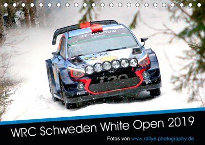 WRC Schweden White Open 2019 (Tischkalender 2019 DIN A5 quer), Patrick Freiberg