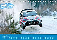WRC Schweden White Open 2019 (Tischkalender 2019 DIN A5 quer) - Produktdetailbild 8