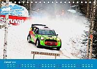 WRC Schweden White Open 2019 (Tischkalender 2019 DIN A5 quer) - Produktdetailbild 1