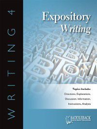 Writing 4: Expository Writing: Mechanics: Proofreading, Saddleback Educational Publishing