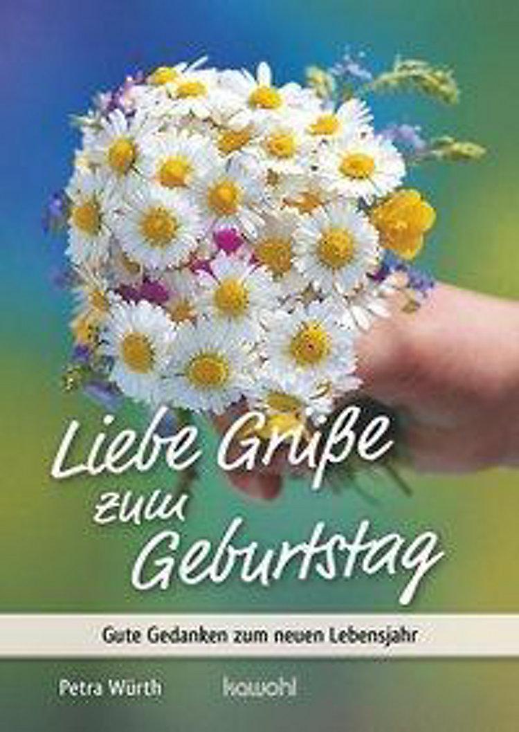 Würth P Liebe Grüsse Zum Geburtstag Buch Bestellen