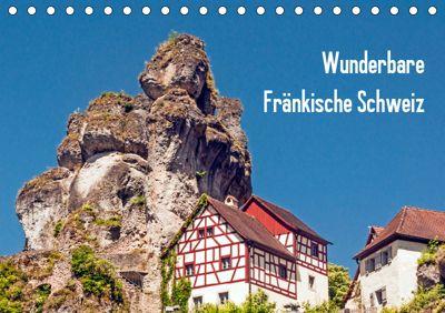 Wunderbare Fränkische Schweiz (Tischkalender 2019 DIN A5 quer), Harry Müller