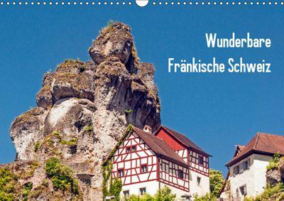 Wunderbare Fränkische Schweiz (Wandkalender 2019 DIN A3 quer), Harry Müller