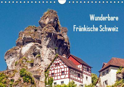 Wunderbare Fränkische Schweiz (Wandkalender 2019 DIN A4 quer), Harry Müller