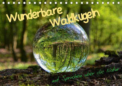 Wunderbare Waldkugeln (Tischkalender 2019 DIN A5 quer), Ilona Stark-Hahn
