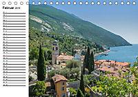 WUNDERBARER GARDASEE Riva del Garda und Torbole (Tischkalender 2019 DIN A5 quer) - Produktdetailbild 2