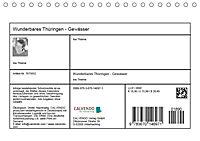 Wunderbares Thüringen - Gewässer (Tischkalender 2019 DIN A5 quer) - Produktdetailbild 13