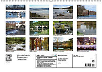 Wunderbares Thüringen - Gewässer (Wandkalender 2019 DIN A2 quer) - Produktdetailbild 13