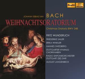 Wunderlich - Weihnachtsoratorium, 2 CDs, Langenbeck, Wunderlich, Sailer