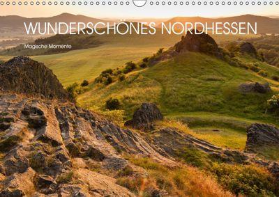 Wunderschönes Nordhessen - Magische Momente (Wandkalender 2019 DIN A3 quer), Stephan Rech