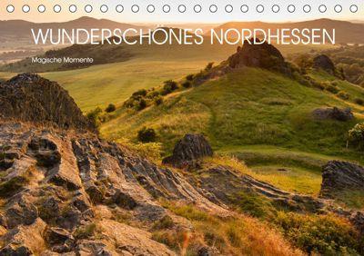 Wunderschönes Nordhessen - Magische Momente (Tischkalender 2019 DIN A5 quer), Stephan Rech