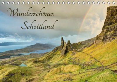 Wunderschönes Schottland (Tischkalender 2019 DIN A5 quer), Michael Valjak