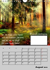 Wunsch- und Zauberkalender (Wandkalender 2019 DIN A4 hoch) - Produktdetailbild 8