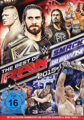WWE - Best of RAW & Smackdown 2015, Diverse Interpreten