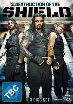 WWE - Destruction of the Shield, Seth Rollins, Roman Reigns, Dean Ambrose