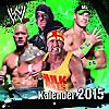 WWE World Wrestling Entertainment Wandkalender 2015