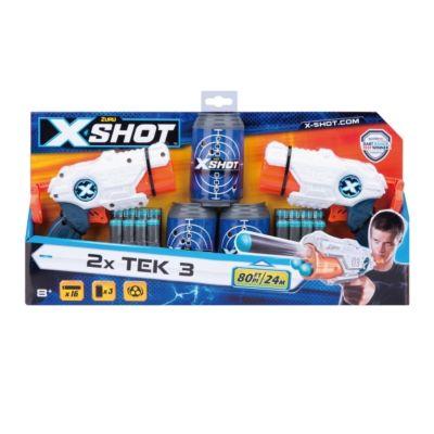 X-SHOT TEK 3 2er Set mit Dosen