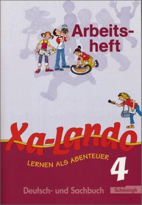 Xa-Lando, Lernen als Abenteuer, Neubearbeitung: Bd.4 4. Schuljahr, Arbeitsheft