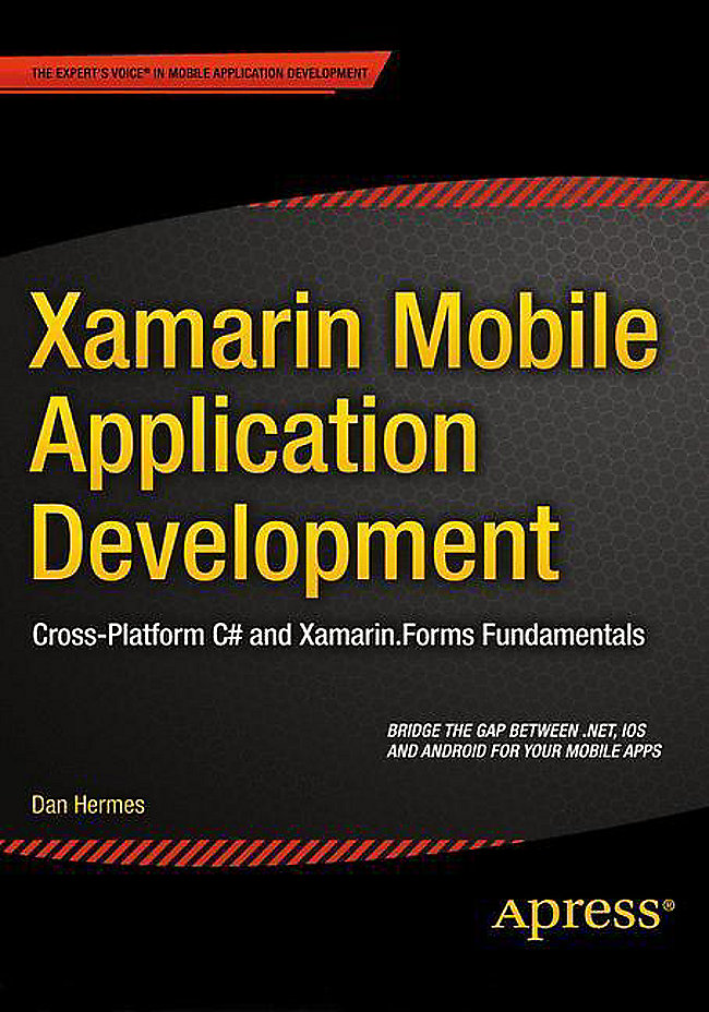 Xamarin Mobile Application Development Buch versandkostenfrei