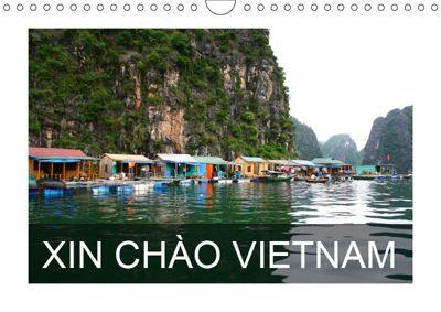 XIN CHÀO VIETNAM (Wall Calendar 2019 DIN A4 Landscape), Stefanie Degner