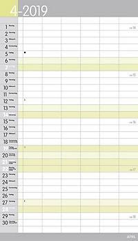 XL Familienplaner Pastell 2019 - Produktdetailbild 4